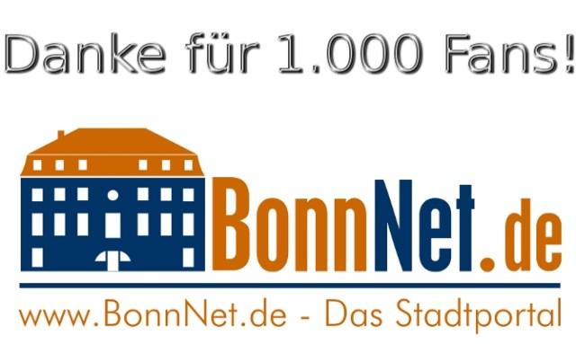 Danke für 1.000 Facebook Fans!