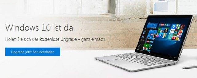 Windows 10 ist da. Holen Sie sich das kostenlose Upgrade – ganz einfach.