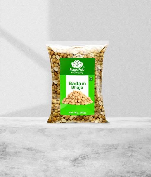 Buy RagaFab Badam Bhaja 250gm Pouch   RagaFab