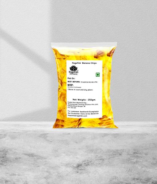 Buy RagaFab Banana Chips 250gm Pouch   Flavours Of Kerala