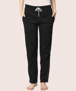 Buy Black Yoga Track Pants For Women At Low Price On RagaFab