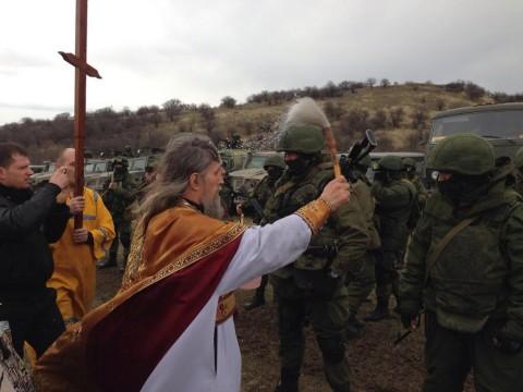 Catholic Church sends medieval religious fanatic order to Crimea