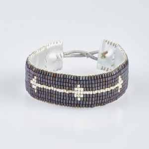 Arkin Bracelet Silver Blue