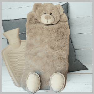 Bear Hot Water Bottle Cover / PJ Case