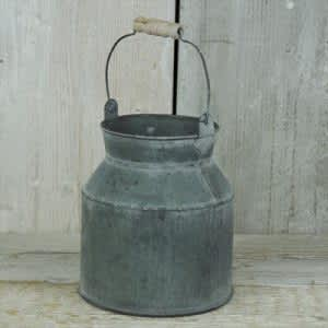 Zinc Milk Churn Small