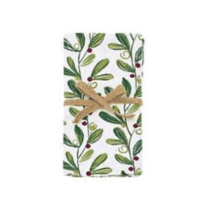 Mistletoe Napkin Set Of 4