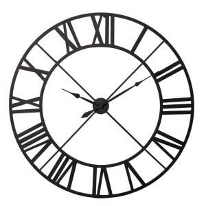 Black Outline Metal Clock