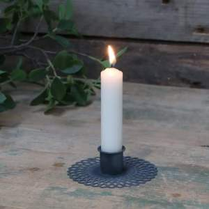 Candlestick Holder With Pattern
