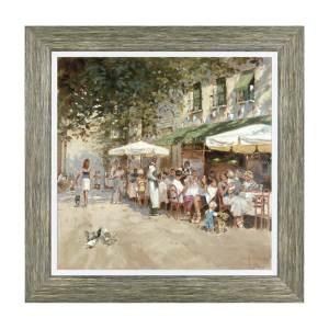 IL BISTRO – Framed Print