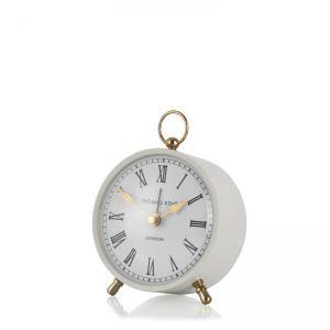 Thomas Kent Wren Alarm Mantel Clock Smoke 4″