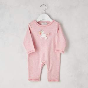 Crochet Unicorn Star Babygrow 0 3