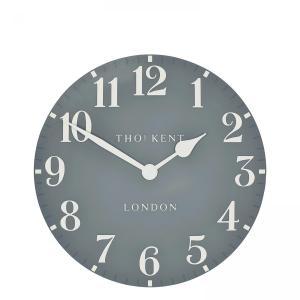 Thomas Kent 12″ Wall Clock  – Flax Blue