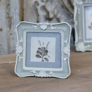 Old French Frame With Rose Decor