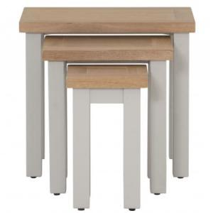 Nest Of 3 Tables In Compact Grey