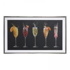 Champagne Cocktails – Large Print