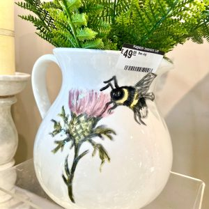Hand-painted Bee Jug
