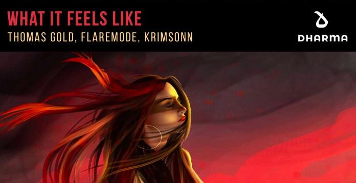 Thomas Gold, Flaremode, Krimsonn - What It Feels Like