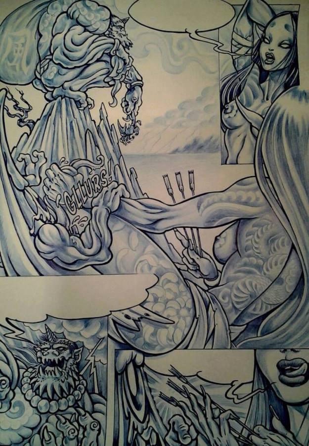 Raijin Panel by Mister Icol
