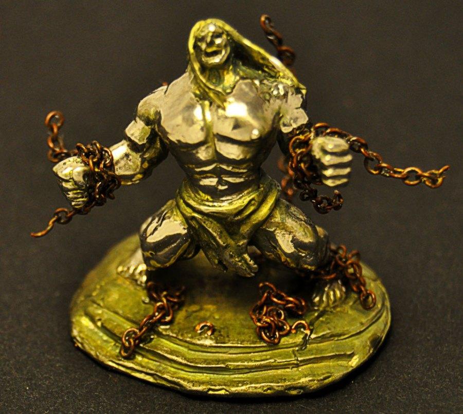 Rage Metal Figurine 1