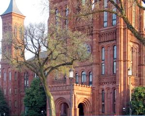 Smithsonian Castle in Springtime