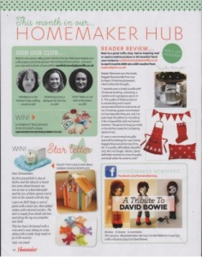 Homemaker - March 2016 Christmas products review ragged rose