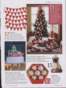 Period Homes Christmas bunting