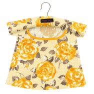 Peggy Peg Bag Gold Rose