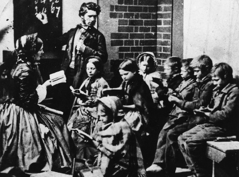 The Peer Led Teaching of the Ragged Schools