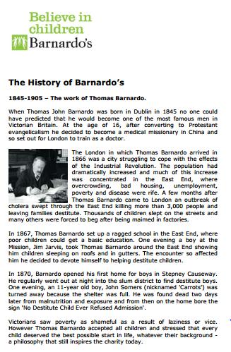A history of Barnardos