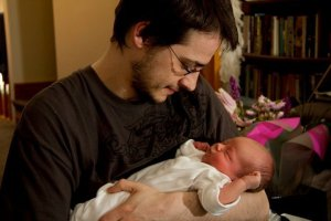 Dan and child