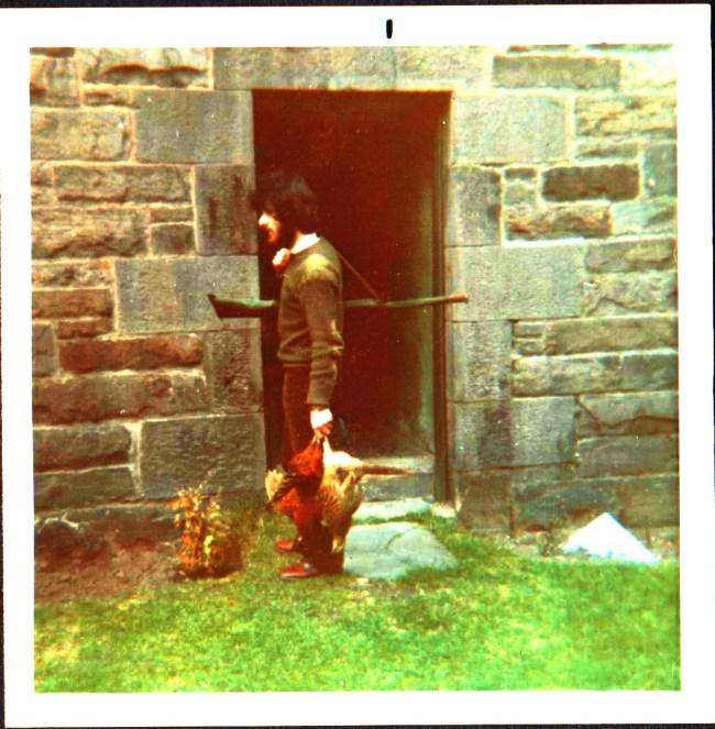 Bob Redwater with Pheasants