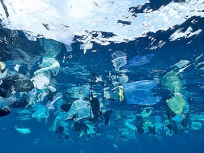 plastics ocean