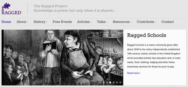 Ragged website