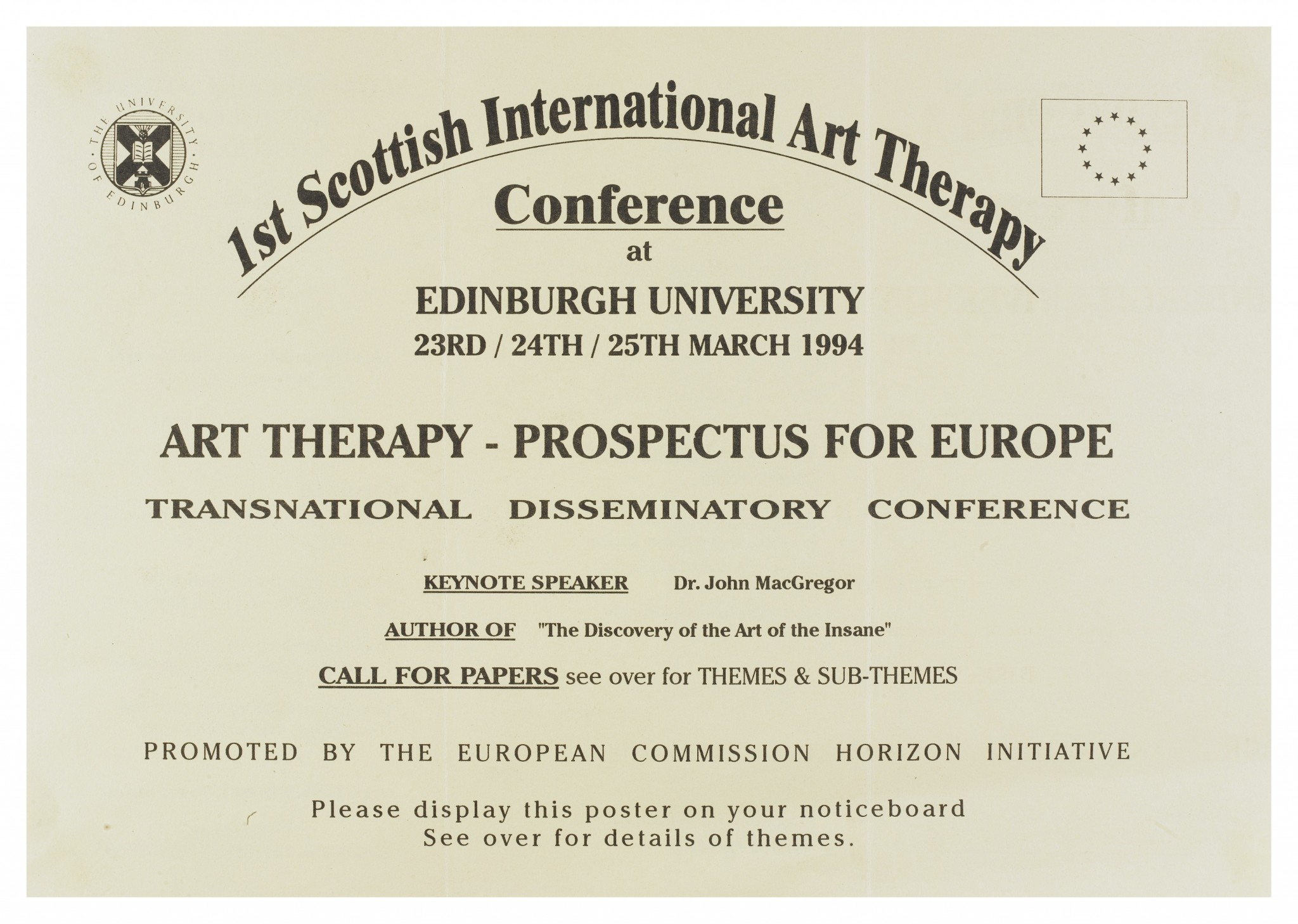 Certificate of Art Therapy