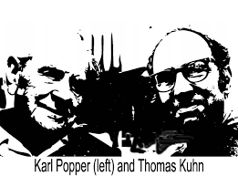 Thomas Kuhn and Karl Popper