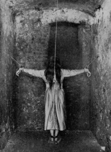 Restraints in an asylum
