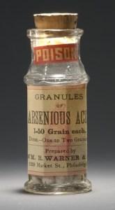 Arsenic bottle