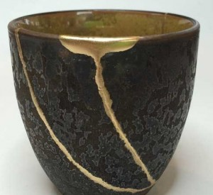 Japanese Kintsugi cup