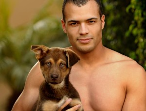 Hunk with Puppie