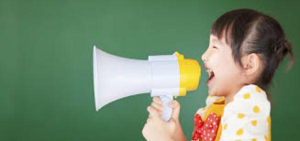 childrens voices