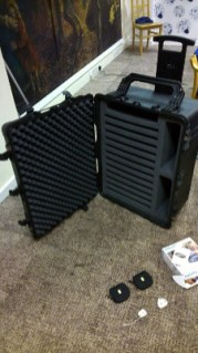 Carbon fibre flycase designed for the job