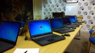 Using standard software comprises a uniform workspace