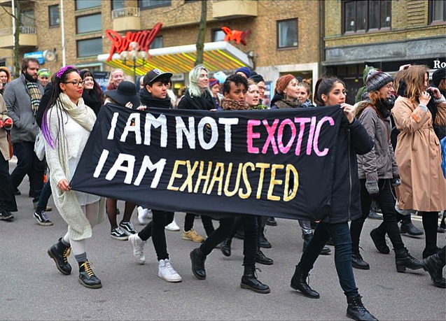 I am not exotic I am exhausted