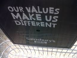 Different values