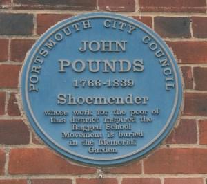 John Pounds Blue Plaque