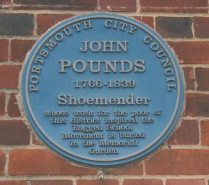 John Pounds Blue Plaque
