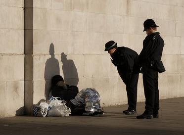 Criminalizing homelessness