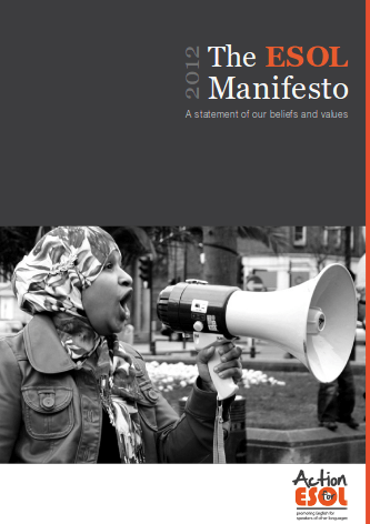 Click to Download: 'ESOL Manifesto'