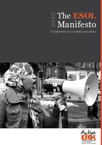 Click to Download: 'ESOL Manifesto'
