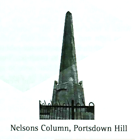 Nelsons Column Portsdown Hill